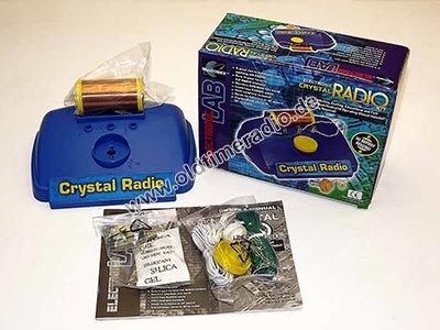 Radiobausatz - Electronic Crystal RADIO Kit - ITEM NO. MX-90IC