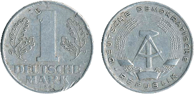 1962 - 1 Deutsche Mark