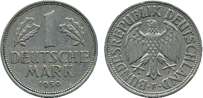 1950 - 1 Deutsche Mark BRD