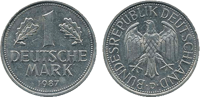 1987 - 1 Deutsche Mark BRD